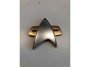 Star Trek Voyager Badge (2 parts)