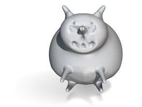 sitting fat cat