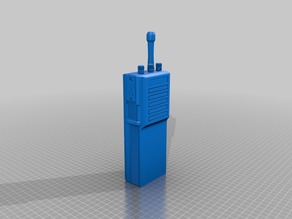 Motorola MT-500 Radio Ghostbusters Prop