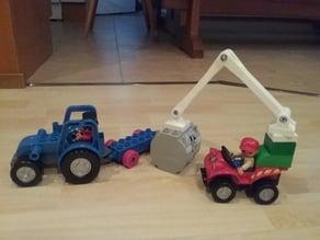 Duplo compatible crane