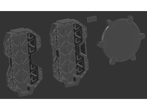 Assault shields for Dominion Crusader Mk3