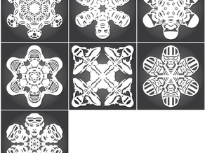 Star Wars Snowflakes by Anthony Herrera - 2015