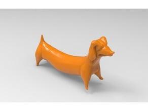 Wiener dog (or dachshund)