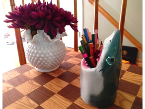 Shark Head Pen Pencil holder