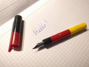 Simple Piston Fountain Pen