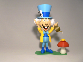 Mad Hatter with base