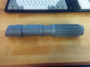 Improved no-glue Internal Parts Lightsaber with pre-ribbed body1