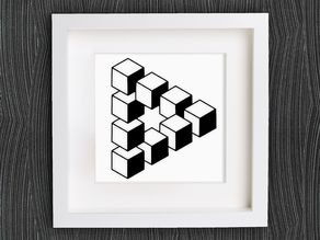 Customizable Penrose Triangle