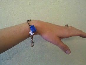 TARDIS Pendant, Keyring, or Charm