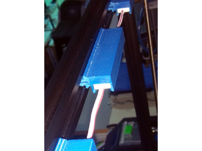 CR-10S4 3-LED Injection Molded Light Module Holder for 2020 Extrusion