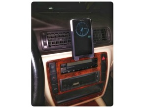 Phone holder for LG G3 for Passat B5