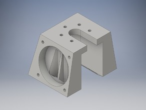 Extruder Cooler for Kossel Mini E3D_V6 with 3x40mm Fan