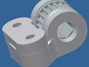 T2 belt tensioner . X axis belt tensioner