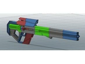 X-COM 2 DarkLance Sniper Rifle (Full Size or Miniature