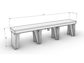 Fencing Club Bench