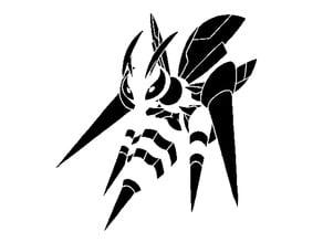 Mega Beedrill stencil