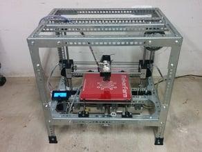 Slotted Steel Printrbot Frankenbot Kit