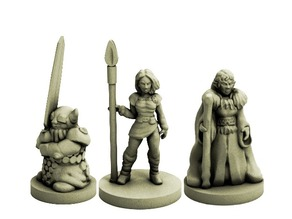 Fantasy Adventuring Party (18mm scale)