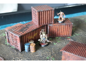 Wargame 28/32mm container