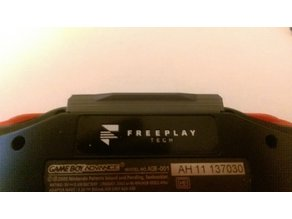 Freeplay Zero/CM3 Game Boy Advance Cartridge Blank