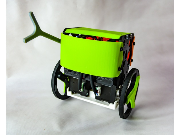 Remotely controlled arduino self balancing robot by