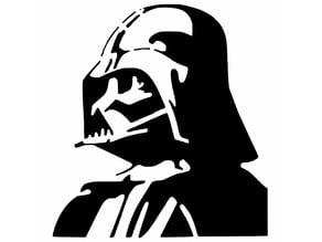 Darth Vader stencil 2