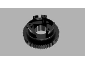 HTD5M 65T 15mm MBS Pulley