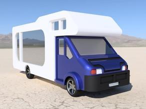 N-Scale Camping Car