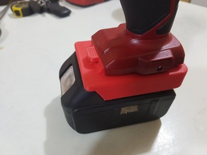 Ozito 18v Powertool To Makita Battery Adapter