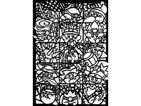 Kirby transformation stencil