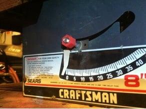 Craftsman Table Saw handle upgrade 9.5mm or 3/8 shaft