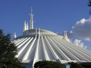 Space Mountain at Walt Disney World