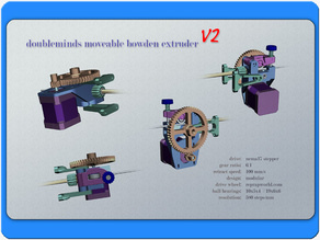 MM-CNCs moveable bowden extruder V2