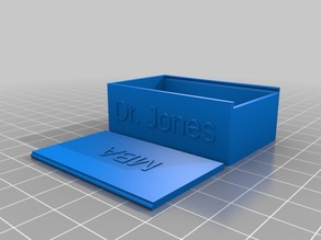My Customized Box Slide Lid with Text