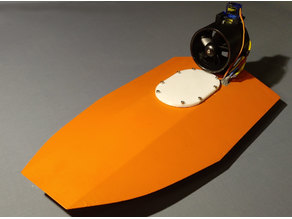 RC Speedboat with ducted fan