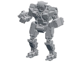 MWO Commando 10mm N scale