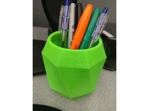 Simple Geometric Pen Cup/Holder