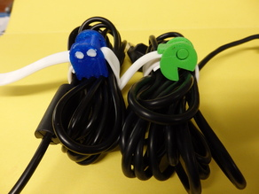 Cable attaches with silicone strap / Attache cable avec bracelet en silicone