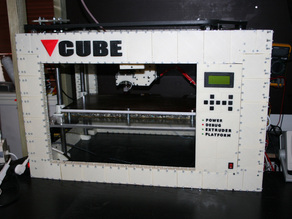 CUBE -The 3D printed 3D printer