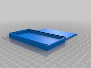 Origami Box with Sliding Top