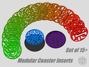 Modular Coaster Inserts - Mix and Match