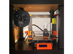 SIMPLE roof spool holder for Prusa i3MK3 Enclosure