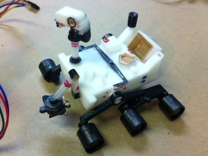mars rover thingiverse - photo #15