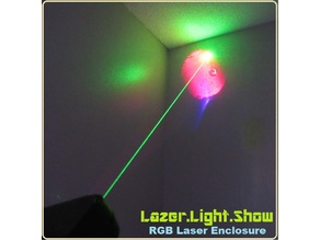 RGB Laser Light Show (for under $10.00!)