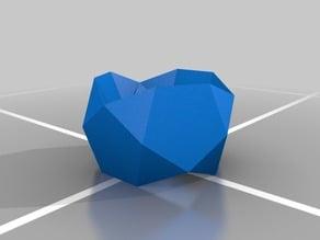 Icosidodecahedron minus 2 triangular hebesphenorotundas