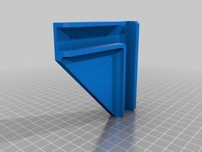 Particle Board Shelf Corner Bracket Supports (Walmart Shelf)