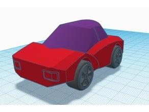 Little electric sports car