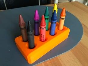 Crayon holder for children