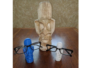Yorick Statue & Glasses Holder