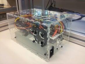 Electronic box cover Felix 3D printer